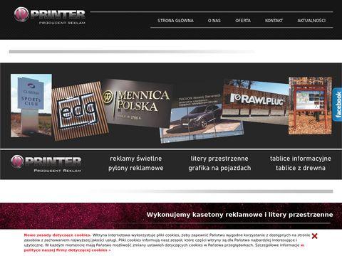Studioprinter.pl producent reklam świetlnych
