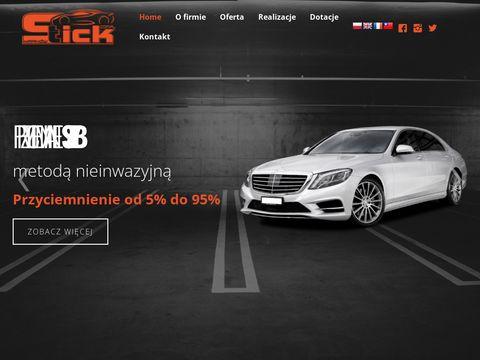 Stick.com.pl zmiana koloru pojazdu