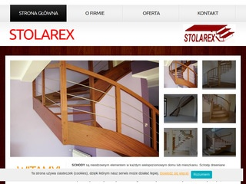 Stolarex.com.pl - schody Toruń