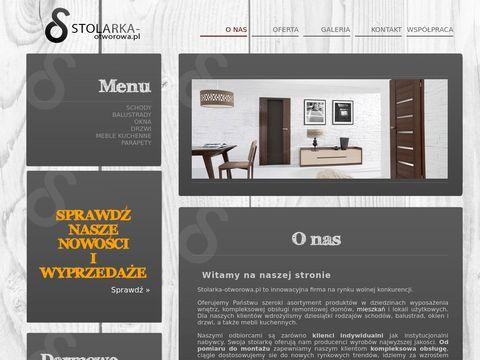 Stolarka - Otworowa - Schody Poznań