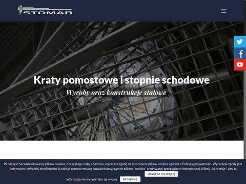 Stomar Sp. z o.o. Gdańsk schody z tworzywa