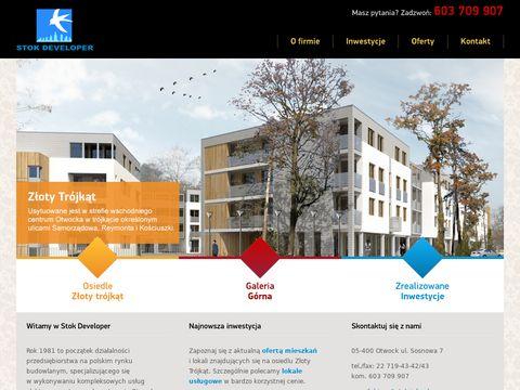 Stok.info.pl osiedla mieszkaniowe