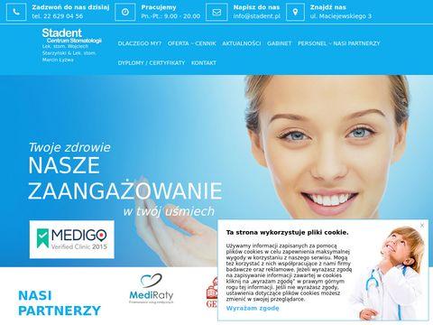 Stadent leczenie wad zgryzu Warszawa