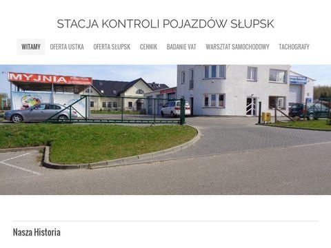 Cartur stacja kontroli pojazdów Słupsk