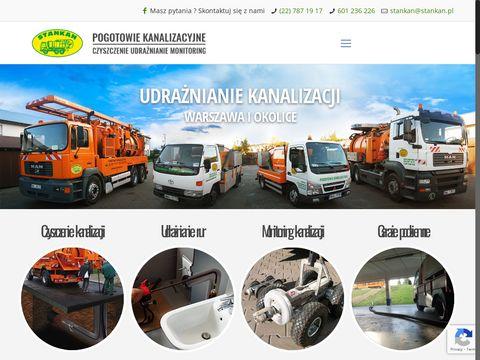 Stankan - pogotowie kanalizacyjne w Warszawie