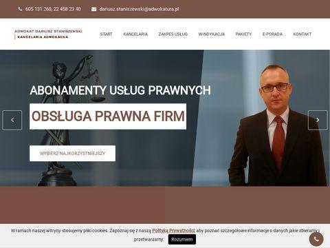 Kancelaria Prawna Warszawa staniszewski-kancelaria.pl