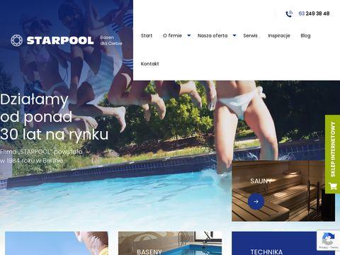 Starpool-Unipool.pl - budowa basenu w ogrodzie