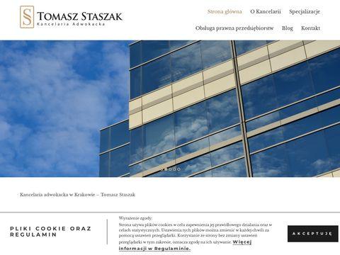 Staszakkancelaria.pl adwokat kraków