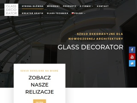 Szyby-dekoracyjne.pl - zabudowy szklane