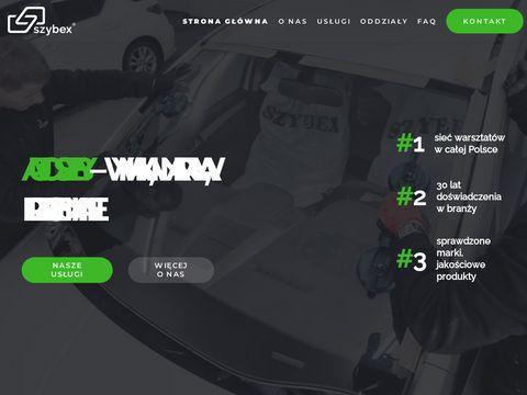 Szybex.pl wymiana naprawa szyb samochodowych