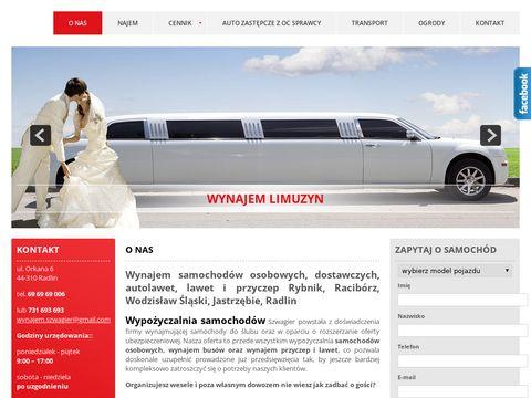 Szwagier.com.pl - wypożyczalnia samochodów