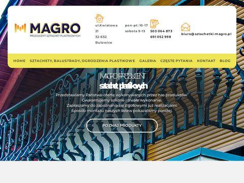 Magro - plastikowe ogrodzenia dla twojego domu