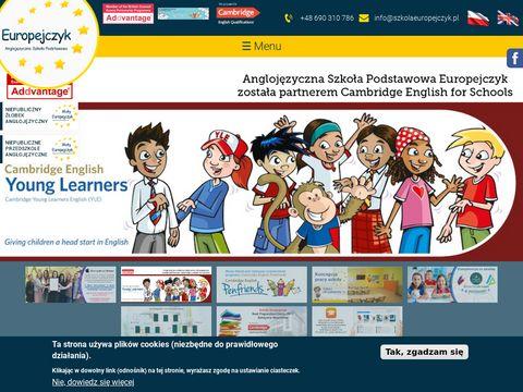 Szkolaeuropejczyk.pl najlepsza szkoła podstawowa
