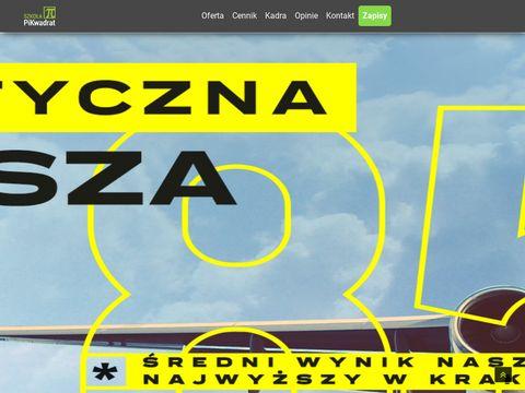 PiKwadrat - korepetycje matematyka Kraków