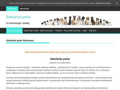 Szkoleniepsow.com.pl Warszawa