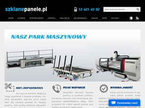 Szklanepanele.pl - Szklane panele