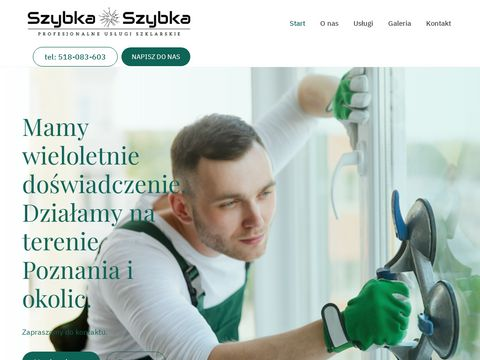 Szybka-Szybka - usługi szklarskie