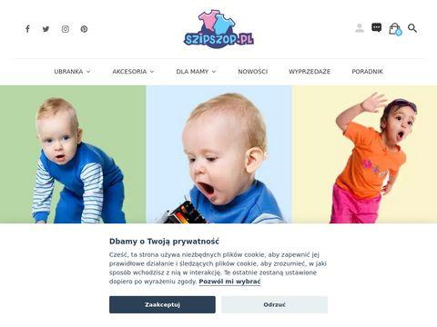 Szipszop.pl ubranka dla niemowląt i dzieci