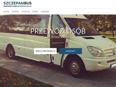 Szczepanbus.pl przewóz osób Sosnowiec