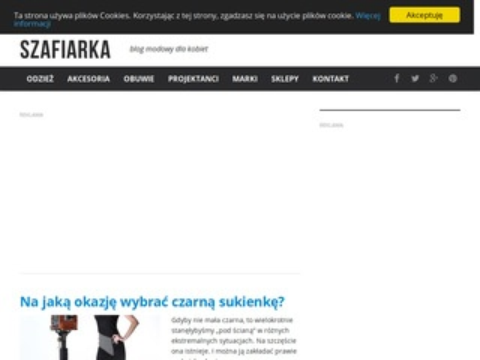 Szafiarka.pl - porady na temat mody