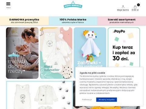 Szafa-bobasa.pl body dla niemowląt