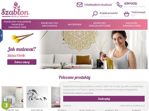 Szablon-studio.pl fototapety naklejki dekoracyjne