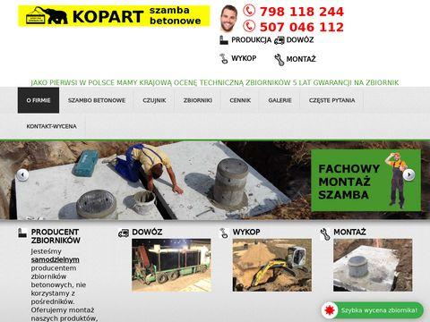 Szamba-pl.pl producent szamb betonowych