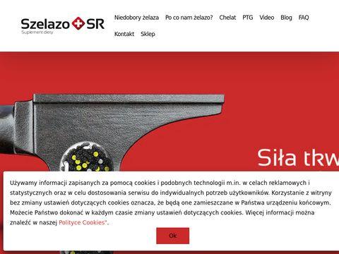 Szelazo.pl - produkty bogate w żelazo