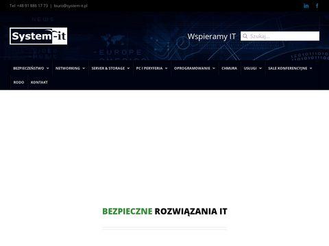 System-it.pl szafy serwerowe Poznań