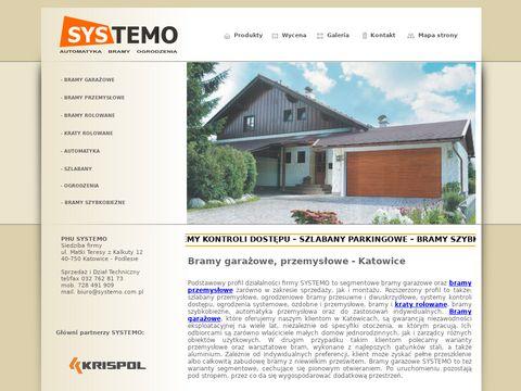 Systemo - bramy przemysłowe