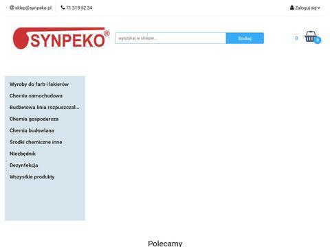 Synpeko.pl chemia gospodarcza