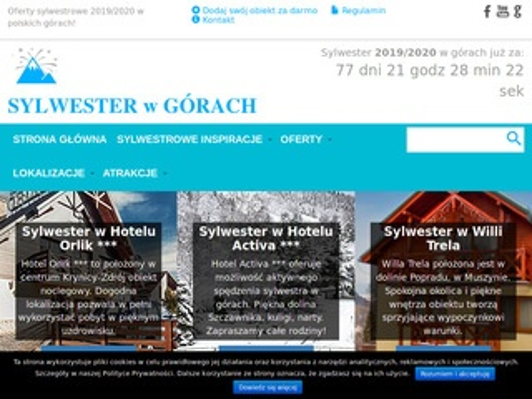 Sylwester-w-gorach.pl - najlepsze oferty