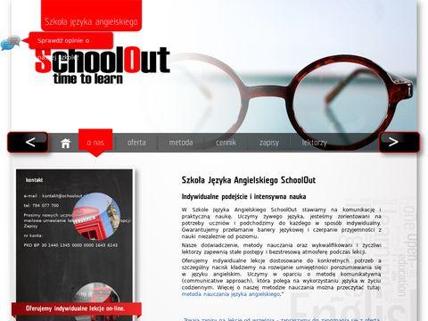 Schoolout.pl - Nauka angielskiego Gdańsk