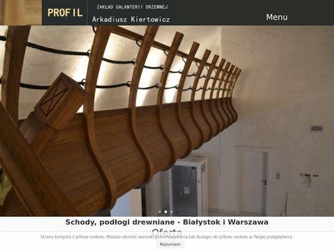Schody-profil.pl - podłogi drewniane Białystok