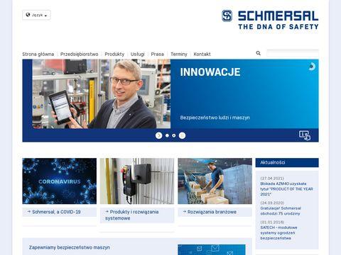 Schmersal.pl bezpieczeństwo maszyn