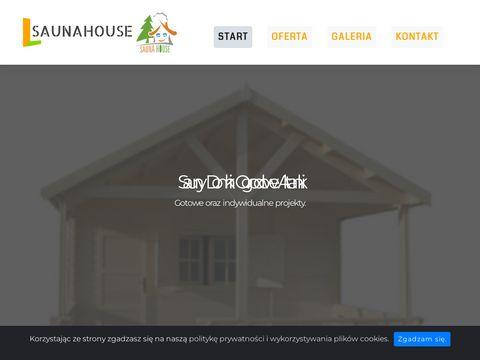 Saunahouse.pl producent saun, domków i akcesorii ogrodowych