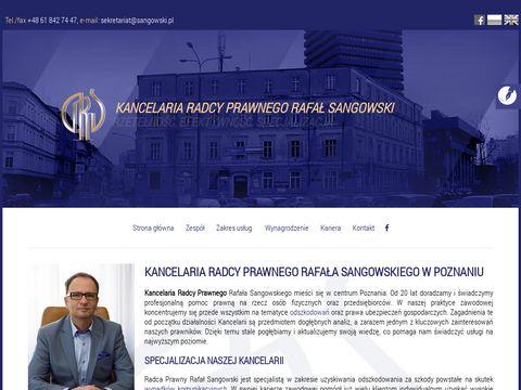Sangowski.pl obsługa prawna firm