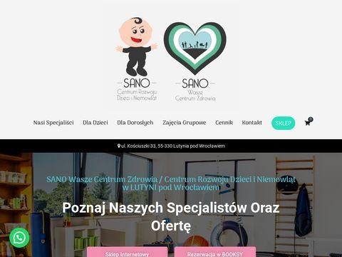 Sano.wroclaw.pl Rehabilitacja dzieci Wrocław