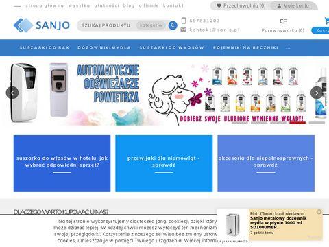 Sanjo.pl - wyposażenie toalet publicznych