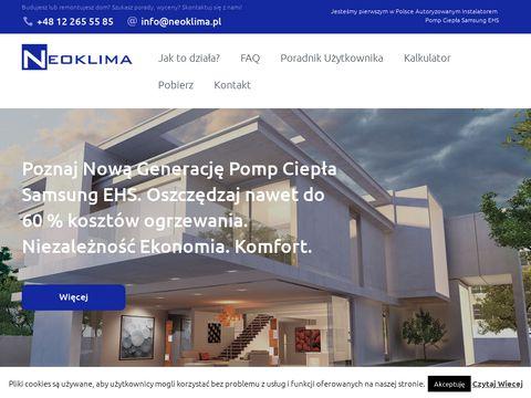 Samsungehs.pl - pompy ciepła