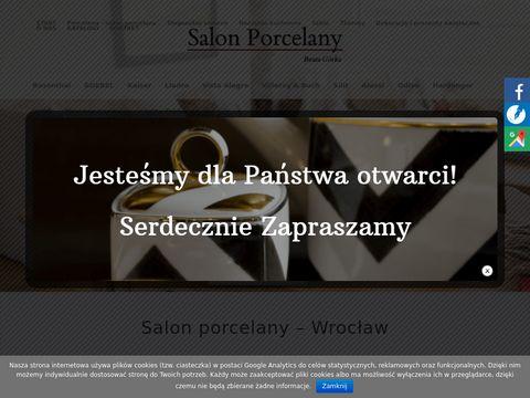 Beata Górka filiżanki porcelanowe Wrocław