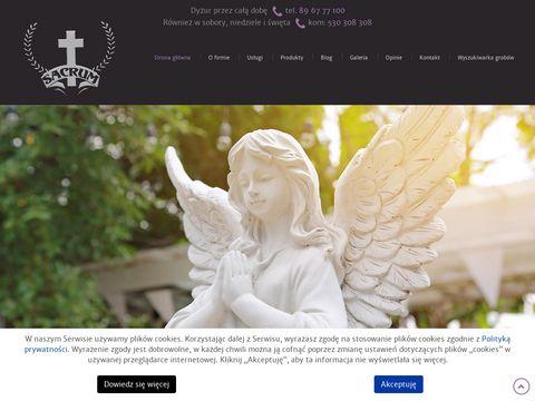 Sacrum usługi pogrzebowe Olsztyn