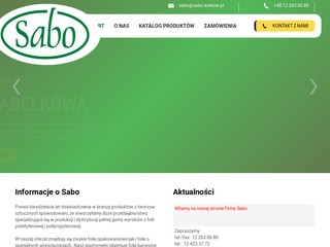 Sabo - opakowania