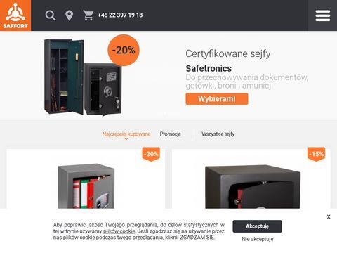 Saffort.pl internetowy sklep z sejfami