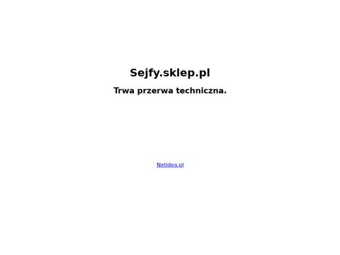 Safexim.pl Szafy metalowe, sejfy gabinetowe