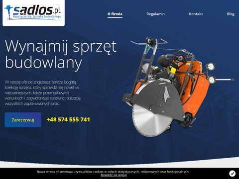 Sadlos.pl - wypożyczalnia sprzętu