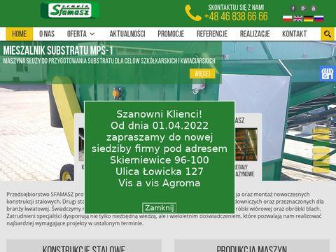 Sfamasz.pl hale magazynowe