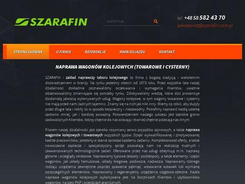 Serwiswagonow.szarafin.com.pl