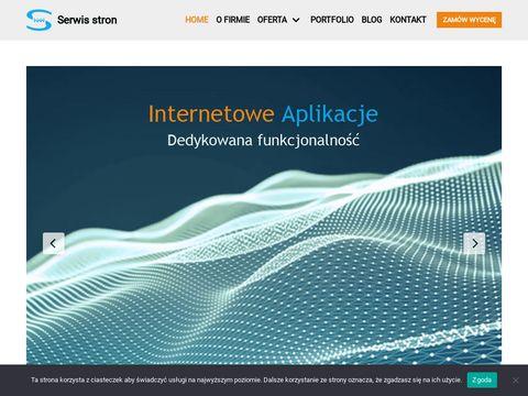Serwisstron.pl aktualizacja stron WWW