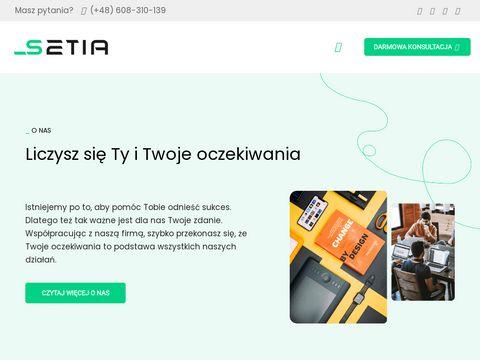 Setia.pl pozycjonowanie lokalne
